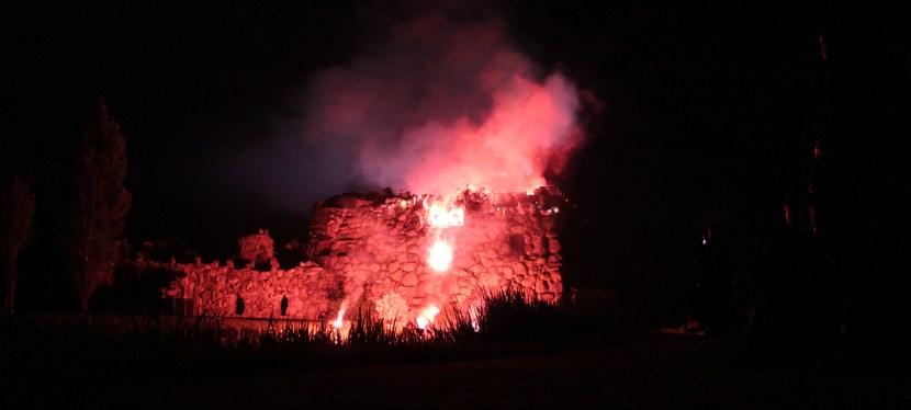 Vulkanausbruch im Wörlitzer Park 2016