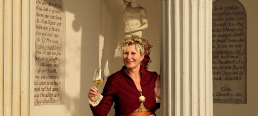 Goethes Weinwanderung durch den Wörlitzer Garten