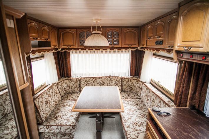 Wie ich einen 30 Jahre alten Hobby-Wohnwagen aufgehübscht habe