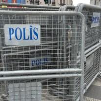 Gitter für den Taksim-Platz