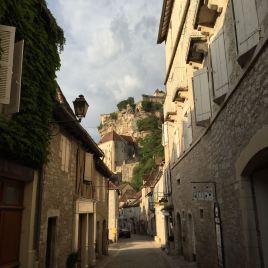 In der Unterstadt von Rocamadour