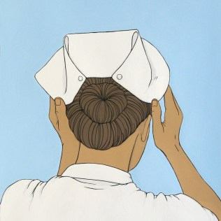 POD 21-nurse cap