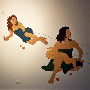 Chicksilog mural