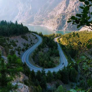 hwy 99 and seton lake, BC