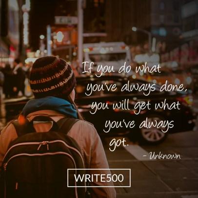 write500-007