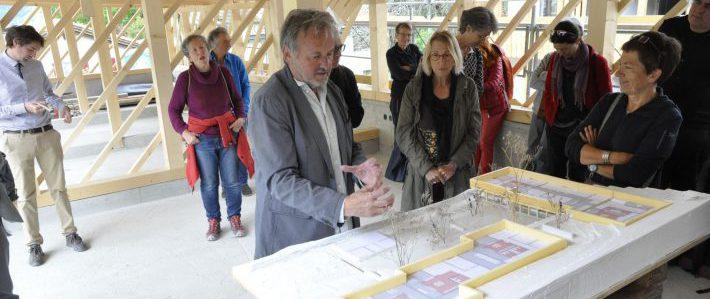 Generalversammlung & Führung Bauprojekt «Burggarta» durch Gion A. Caminada