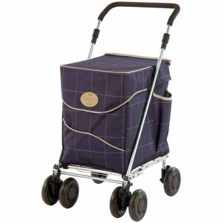 shollet deluxe mulberry shopping trolley review woggis
