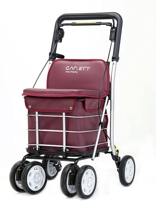 shoppingvagn med stor kapacitet