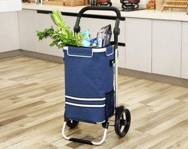 сгъваема количка за пазаруване