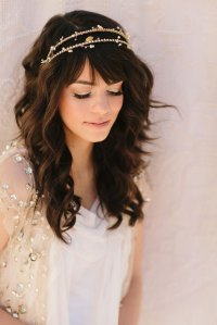 20 Wedding Hairstyles With Headband Ideas - Wohh Wedding