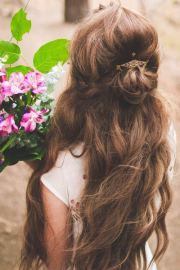 wedding hairstyles brown
