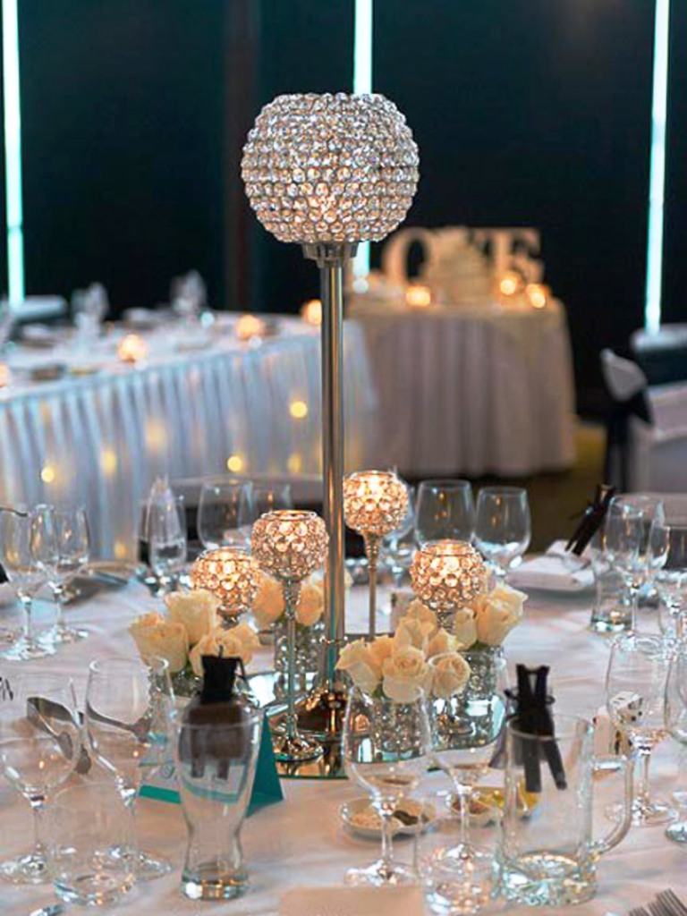 Bling Wedding Decoration Ideas Elitflat