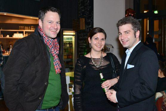 Wolfram Sauer, Julia Lüdecke, Christian Wohlrabe