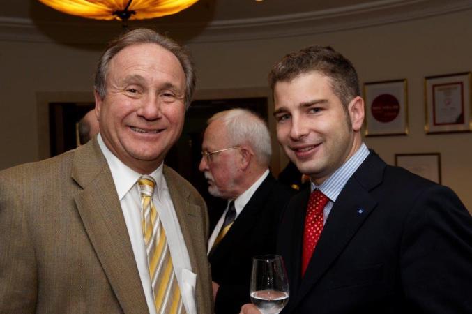 Mit dem Sohn von Ronald Reagan, Michael Reagan
