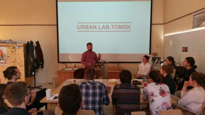 Seminar in Sibirien mit dem Urban.Lab.Tomsk 2017