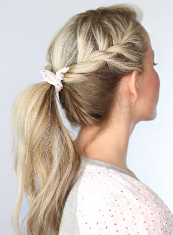 Schöne Einfache Frisuren Für Offene Haare Katlen Blog