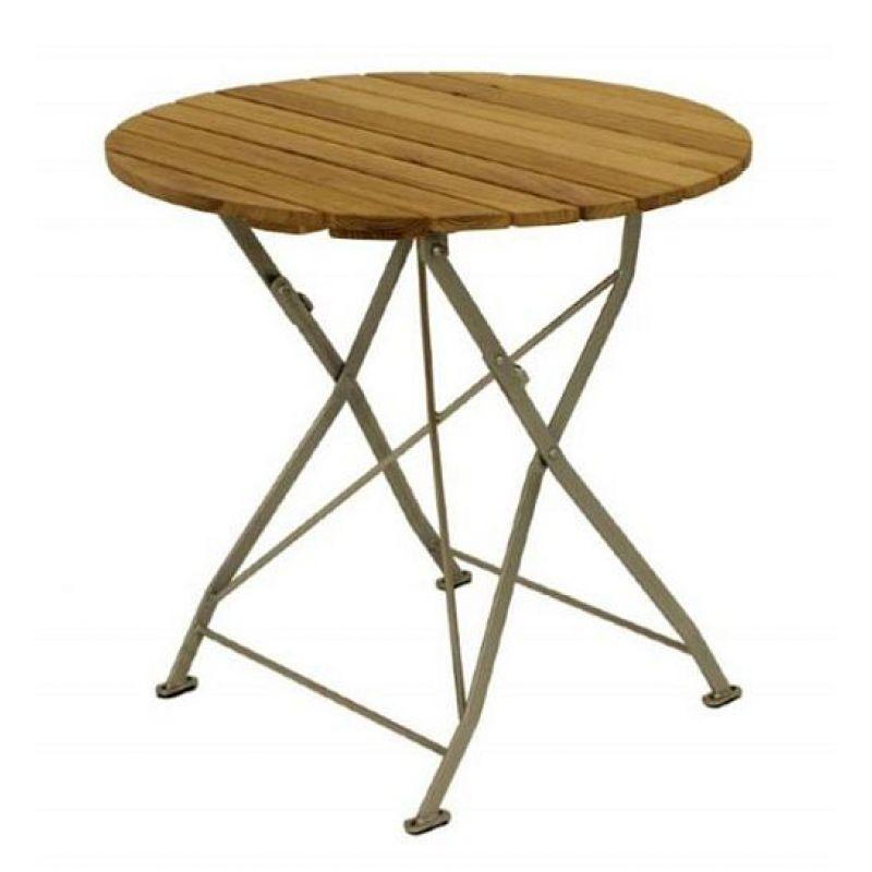 Klapptisch Holztisch Gartentisch Tisch,rund, Gestell