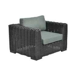 Lounge Sessel mit Rücken- und Sitz- Kissen