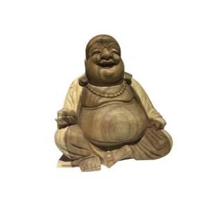 Buddha Figur sitzend Glücksbuddha