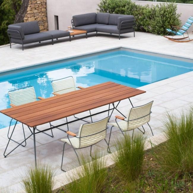 Houe SKETCH Outdoor Tisch 220 x 88 cm