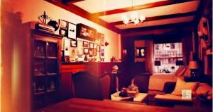 Traditioneller Stil im kleinsten Heim