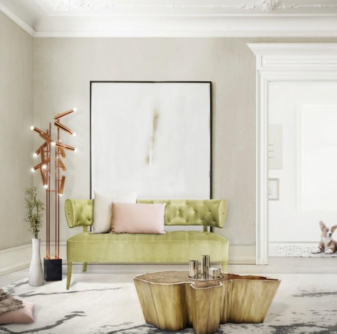 WohndesignIdeen Stehlampen in Ihrem Wohnzimmer Design  Wohnen mit Klassikern