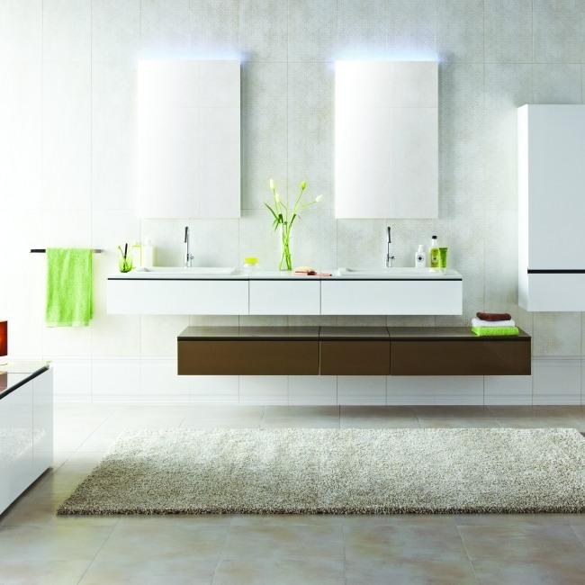 Stilvolle Badezimmer Sind Oft Subtiler, Und Das Ist Das Design, Das Perfekt  Schafft Ein Gleichgewicht In Das Moderne Zuhause.