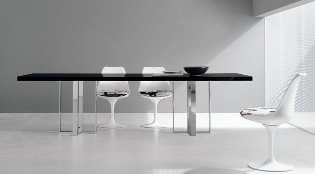 esstisch modern bunte beine italienische designer - boisholz, Möbel
