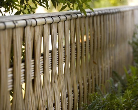sichtschutz fur garten schirmen sie mit blumen und pflanzen ab, Garten und erstellen