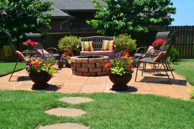 gartenkamin gemauert selber bauen ideen terrasse holz - boisholz, Gartengerate ideen