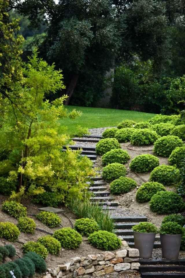 garten ideen garten und landschaftsbau hang - terrasseenbois,