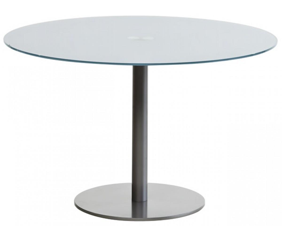 Esstisch rund Glas Tisch Glasplatte rund  Tisch