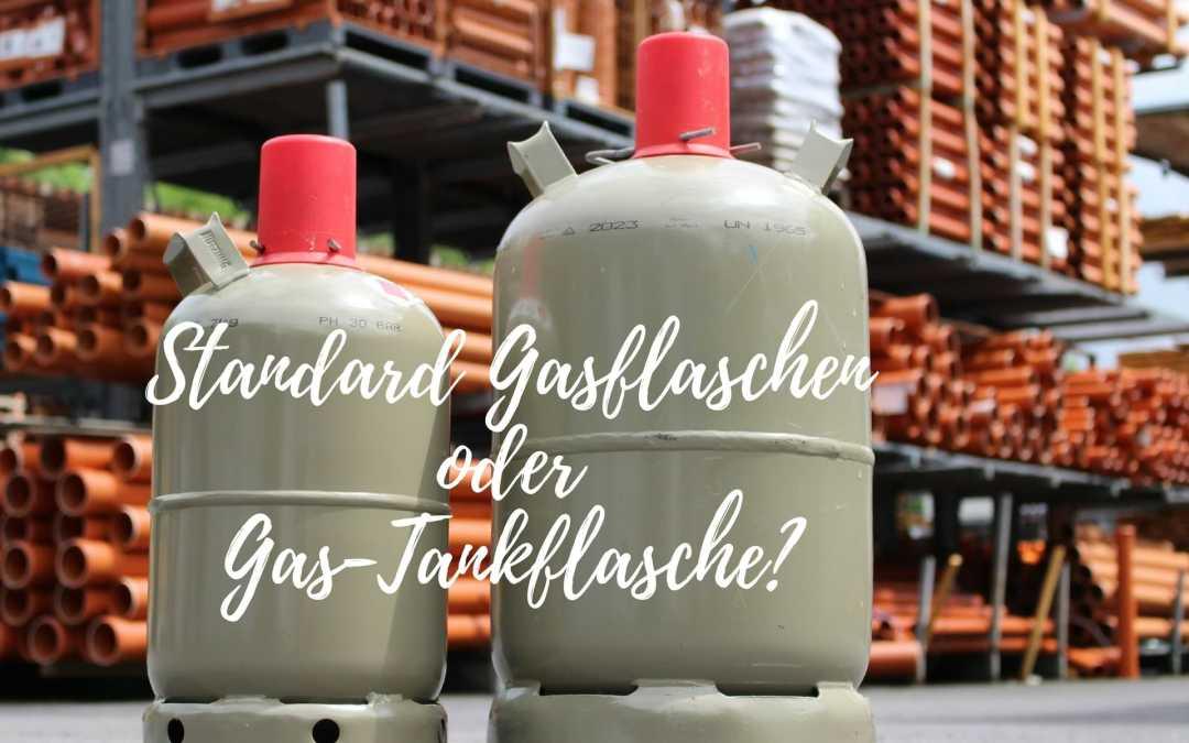 Gasflaschen füllen – Gastank kaufen