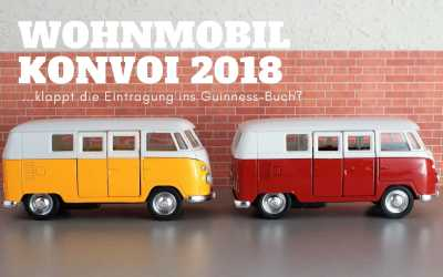 Wohnmobil Konvoi Weltrekord – 2018 Guinness-Titel?
