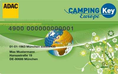 Camping Key Europe – Sparen auf Camping- und Stellplatz