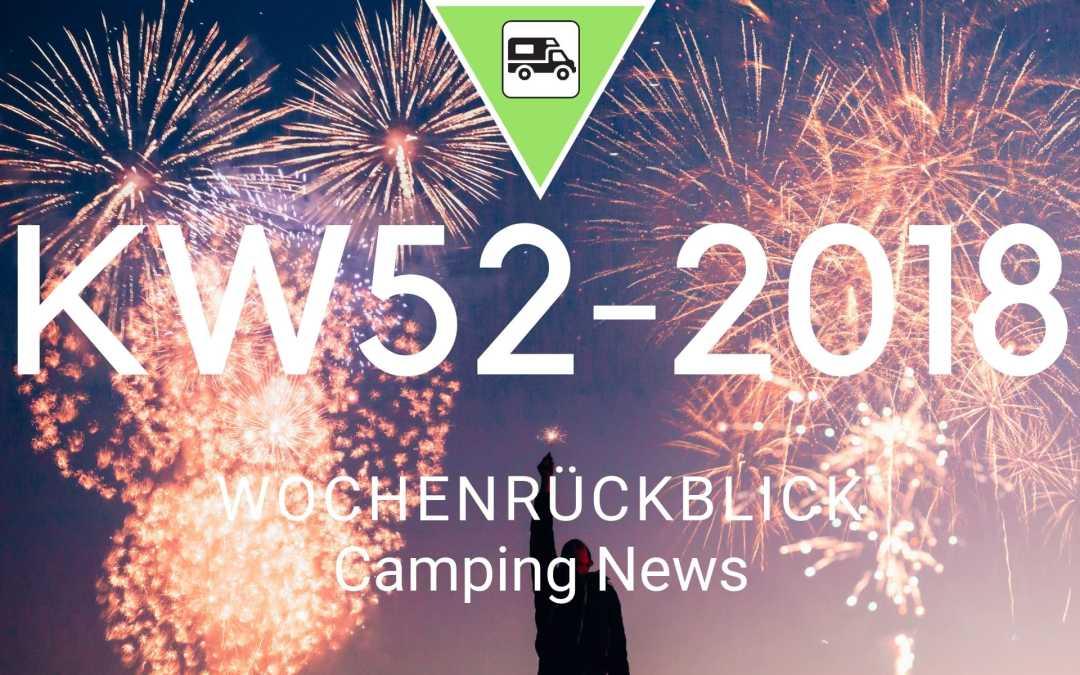 Camping News Wochenrückblick – KW52/2018