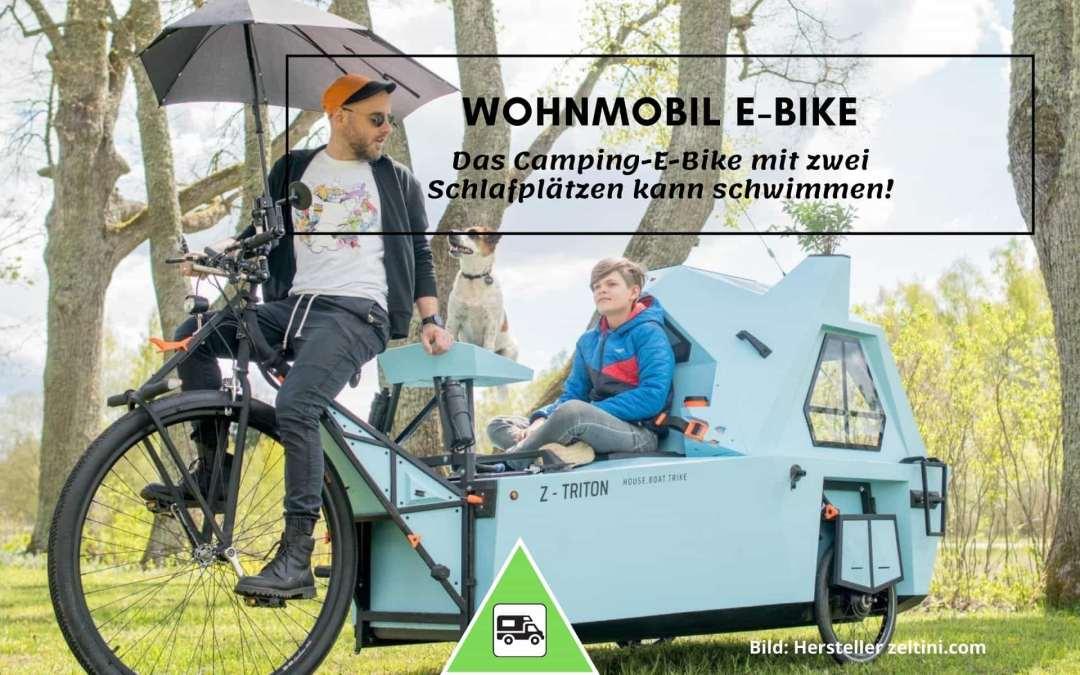 Wohnmobil-E-Bike für Land und Wasser | Camping News Wochenrückblick – KW35/2020