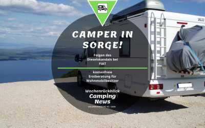 Dieselskandal auch bei Fiat | Camping News Wochenrückblick – KW43/2020