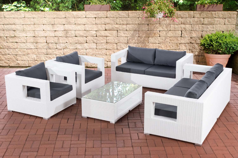 Outdoor Loungemöbel Obi Loungemöbel Weiß Bellasole Loungeset 8 Tlg
