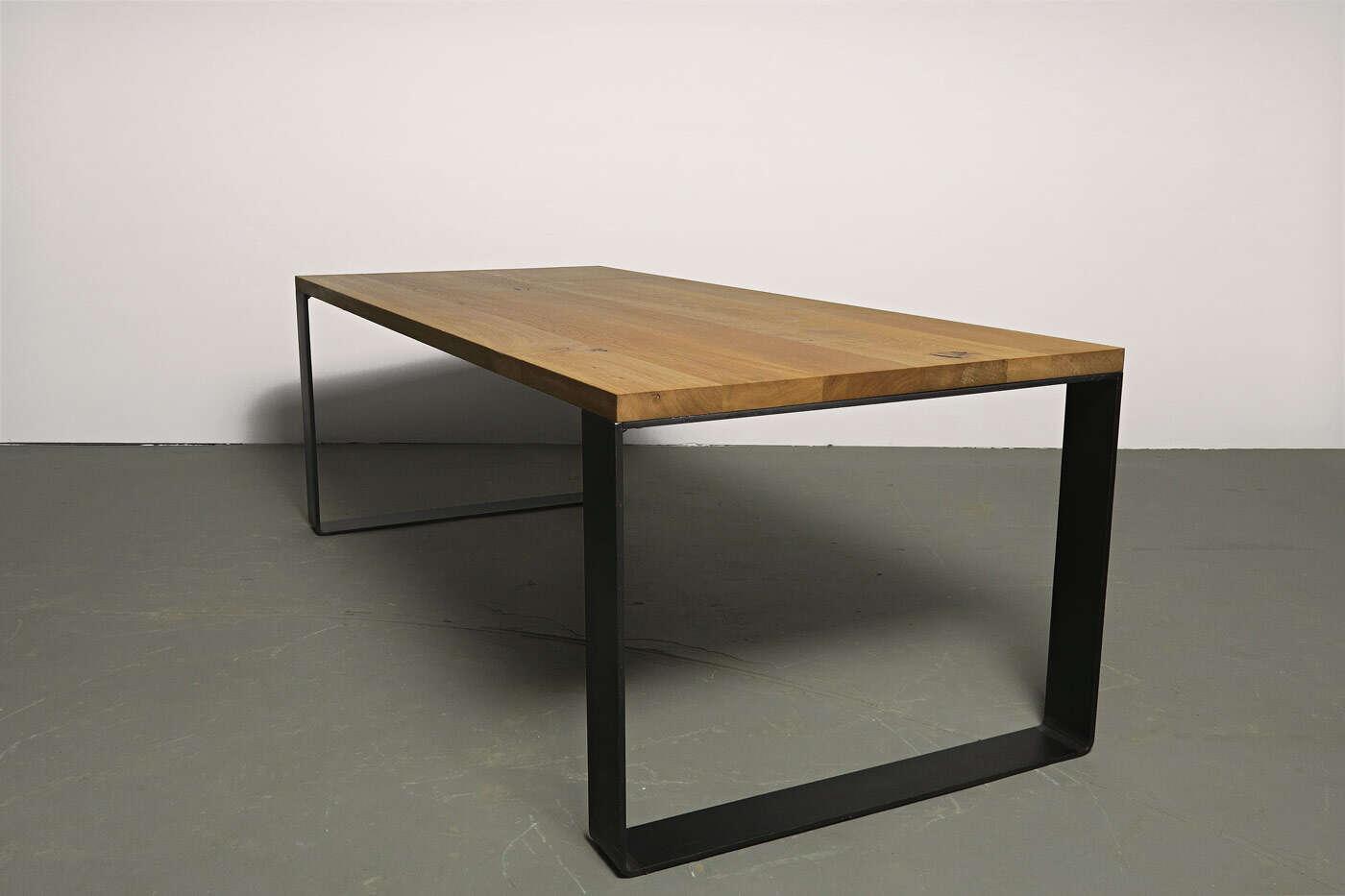 Tischkufen Stahl nach Ma  Moss 10  ansehen