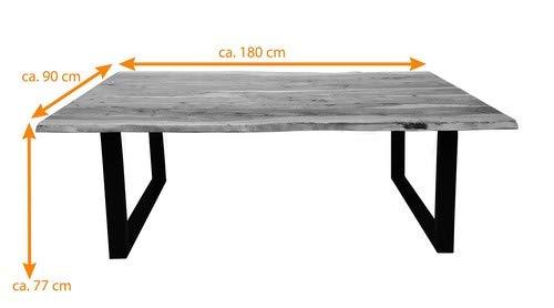 SAM Stilvoller Esszimmertisch aus Nussbaum farbenen