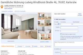 CarlvonNoordenPlatz 14 60596 Frankfurt am Main  Gegen Wohnungsbetrug against rental scammers