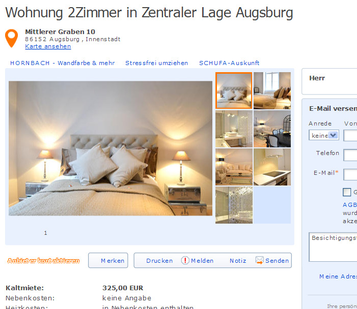 Wallaustrae 36 55118 Mainz  Gegen Wohnungsbetrug against rental scammers