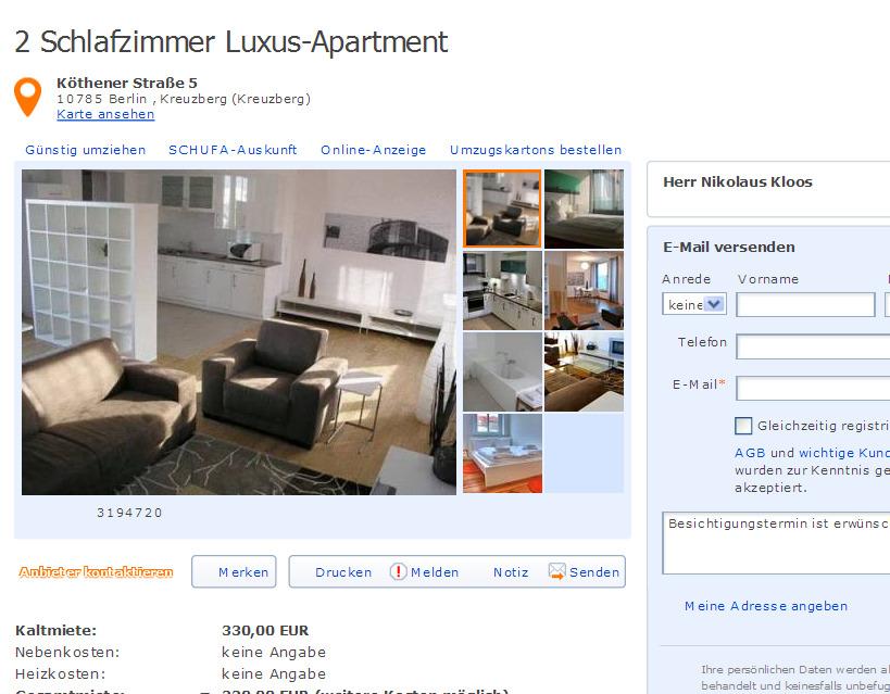 komplett eingerichtete Wohnung GustavHeinemannStr 62