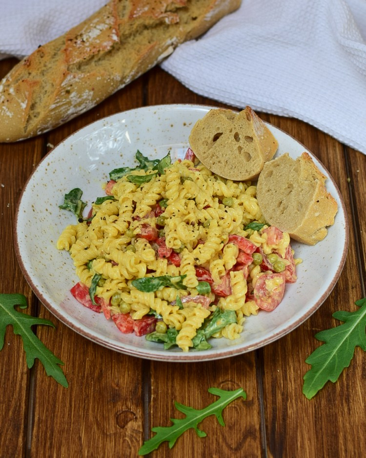 Mango Curry Nudelsalat