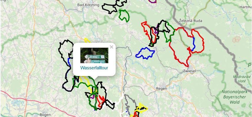 Neu: Übersichtskarte mit allen Tracks verfügbar