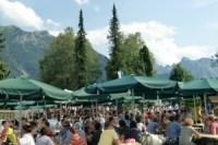 Parkfest im Schulhof Wallgau am 12.07.2015