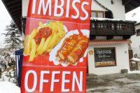 Eröffnung Imbiss zur Alten Sattlerei in Wallgau
