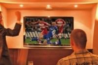 Fußballübertragung im Parkhotel Wallgau