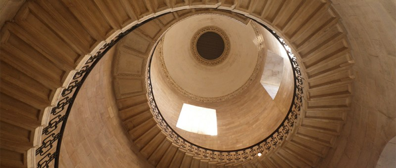 Foto Wendeltreppe in St. Paul's Cathredral